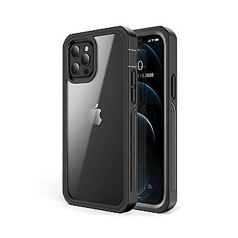 Shock-resistant mobile case for iPhone 12 Pro Max Black/Grey