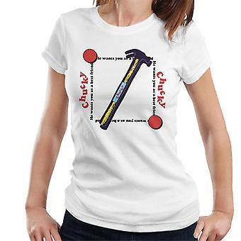 Chucky Beste Vriend Hammer Women's T-Shirt