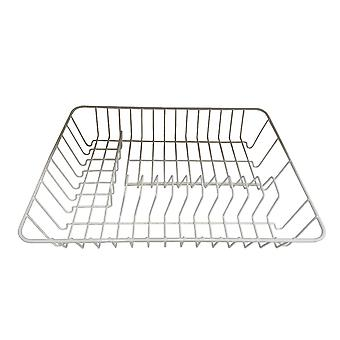 Home Label Dish Rack White PE Coating