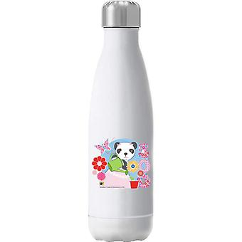 Sooty Soo Watering Flower Pot Insulated Stainless Steel Water Bottle