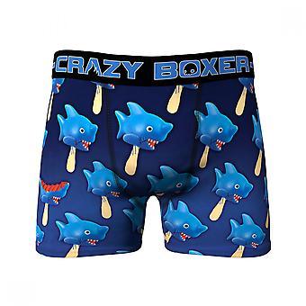 Shark Popsicle All Over Print Men's Underwear Boxer Briefs