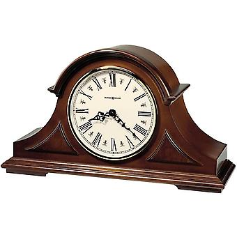 Howard Miller Burton II Mantel Clock - Dark Brown