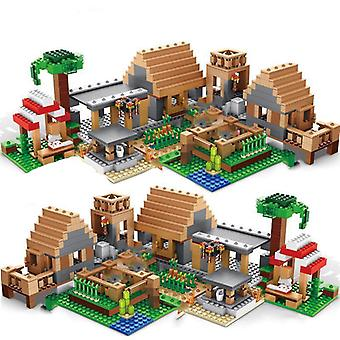 Building Blocks, Village Warhorse City Tree House With Elevator Bricks