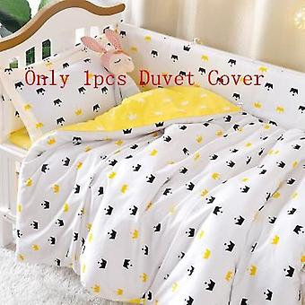 100% Cotton Baby Bedding Set, Quilt Cover For Newborn Babies Crib