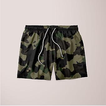 Classic camouflage pattern plakat shorts
