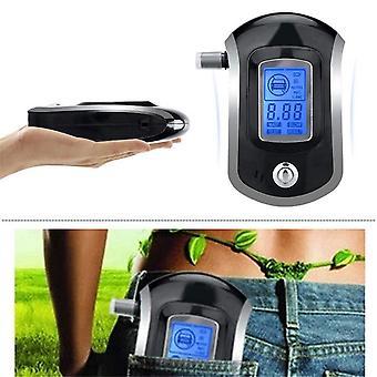 Digital Breath Alkohol Tester Breathalyzer Med LCD Dispaly