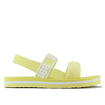 Girl's Ugg Australia Children Zuma Sling Slip On Sandals in Yellow