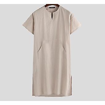 Męskie szaty z krótkim rękawem