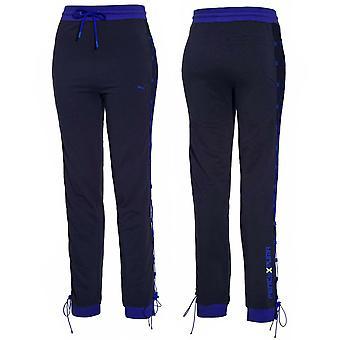 Puma x Rihanna Fenty Womens Laced Pants Joggers Navy 577288 02