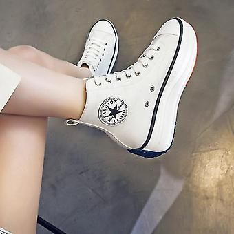 Fashion Trainers Women High Top Sneaker  Breathable Platform Shoes