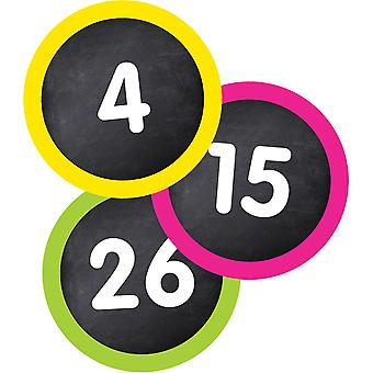 Student Numbers Mini Cut-Outs, 35 Pieces