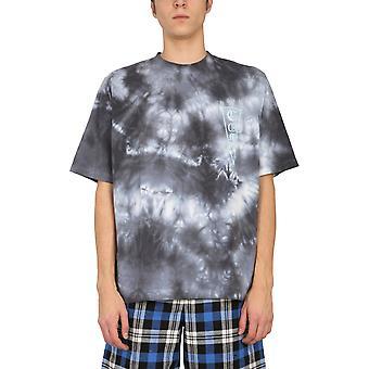 Marcelo Burlon Cmaa054r21jer0020149 Men's Grey Cotton T-shirt