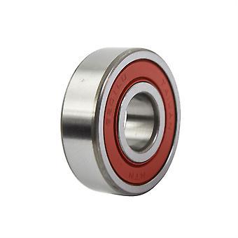 NTN Double Rubber Sealed Bearing - 6201DDU