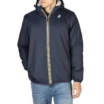 K-way men's fixed hood jacket - k005dh0