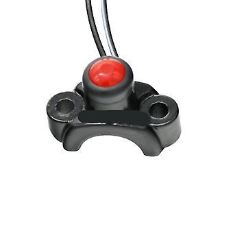 Interruptores universales de motocicleta rojos/amarillos