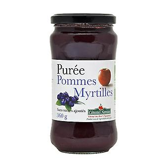 Blueberry Apple puree without sugar 360 g