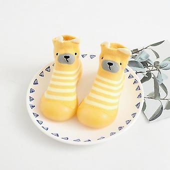 Toddler Stripe Tyk Bomuld Soft-soled Sko