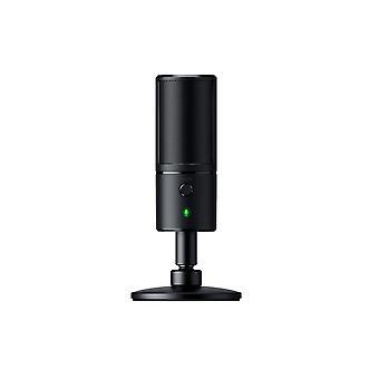 Razer seiren x microfono digitale USB e amplificatore per cuffie