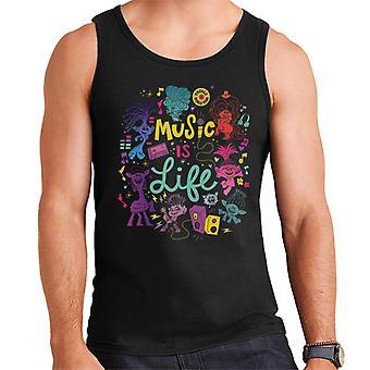 Trolls World Tour Musiikki on Life Montage Men's Vest