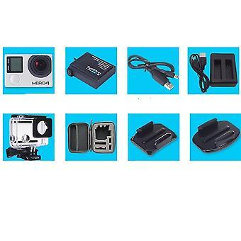 Gopro Hd Hero 4 Musta Toiminta Videokamera Vedenpitävä Urheilukamera 4k