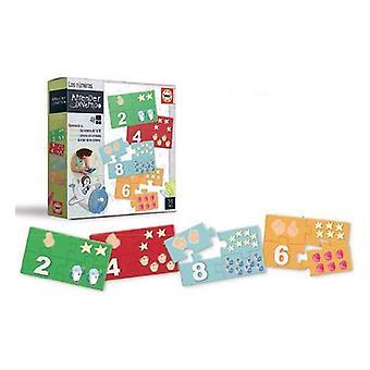 Child's puzzle educa numbers