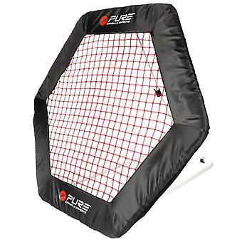 Pure2improve Fußball Rebound Net Hexagon 140x125cm