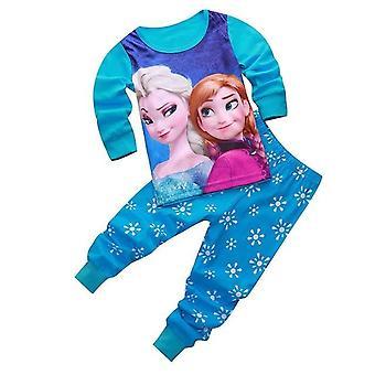 Deti Princezná Séria pyžamové súpravy ( Sada 2)