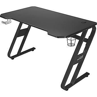 Speedlink SCARIT Gaming Desk - Gaming-optimierter Schreibtisch mit Z-Shape, Kabelmanagement,