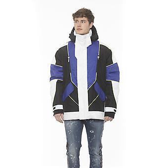 Les Hommes Black- Cobalt- White Jacket - LE1395239