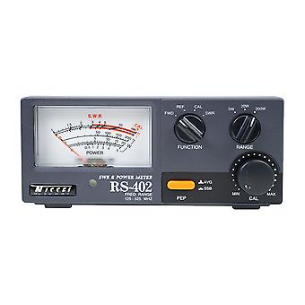 Nissei RS-402 SWR 125-525 Mhz Wattmeter 0-200W PNI Reflektometer