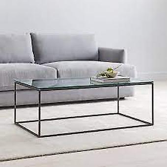 Lasinen sohvapöytä
