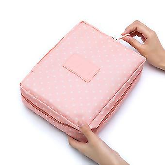 Kvinder Travel Opbevaring Taske, Toiletartikler Kosmetisk Taske