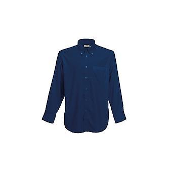 Fruto del telar camisa oxford de manga larga 65114