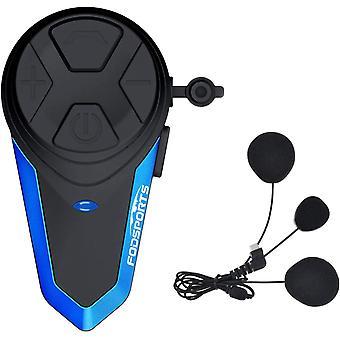 FengChun Bluetooth Motorrad Gegensprechanlage BT-S3 Kommunikation System GPS FM Radio Wasserdicht Helm