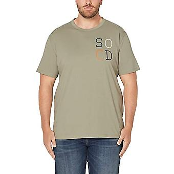 s.Oliver Big Size 15.908.32.4490 T-Shirt, Green (Stone Green 7805), XX-Large Men