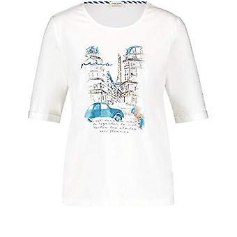 Gerry Weber T-Shirt 1/2 Arm, White, 50 Woman(2)
