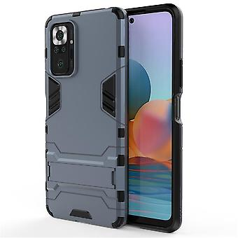 Shockproof case for redmi note10 5g with kickstand blue pc5163
