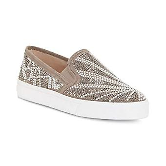 INC International Concepts SAMMEE Slip-ON Sneakers Natural Pearl 9M