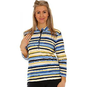RABE Rabe Blue And Yellow Top 46-321351