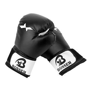 قفازات الملاكمة السوداء لقفازات التدريب menboxing قفازات القفازاتبارينج قفازات كيس الملاكمة x3813