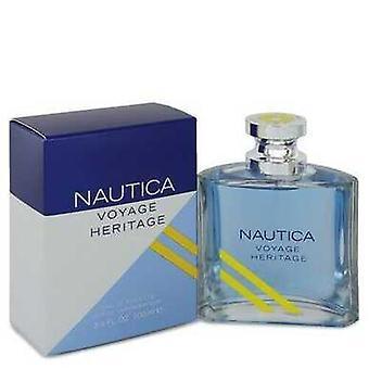Nautica Voyage Heritage By Nautica Eau de Toilette Spray 3.4 Oz (miehet)