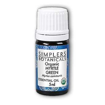 Simplers Botanicals Organic Myrtle Green, 5 ml