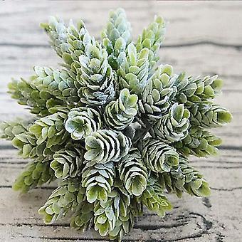 محاكاة النبات الأخضر زهرة البلاستيك الاصطناعي