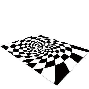 YANGFAN Gradient Rug Non-Slip Floor Carpet for Bedroom