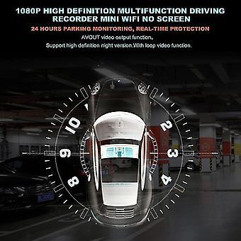 1080p High Definition Wielofunkcyjny rejestrator jazdy Mini Wifi Brak ekranu