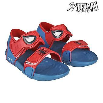 Kindersandalen Spiderman Rot