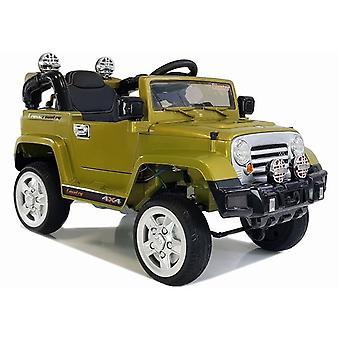 Masina electrica pentru copii 2.4 Ghz – verde masliniu – vehicul all-terrain
