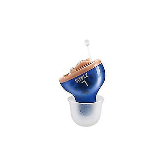 Mini hearing aid for the elderly & adual inner ear invisible hearing aids volume adjustable left