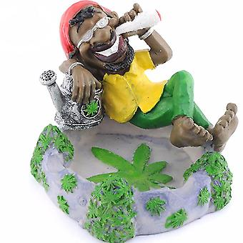 Cigar Ashtray Home Office Decoration Resin Ash Trays Smoking Accessories