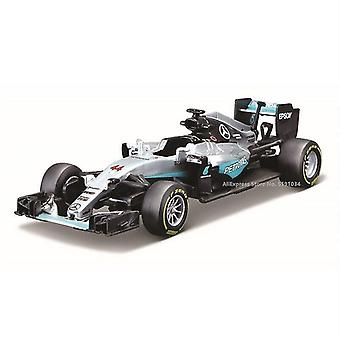 Toy cars 1:43 mercedes benz amg 6 44 alloy f1 car casting car simulation car decoration christmas gift toy matte gray